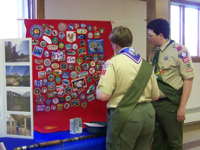 scout patch blanket