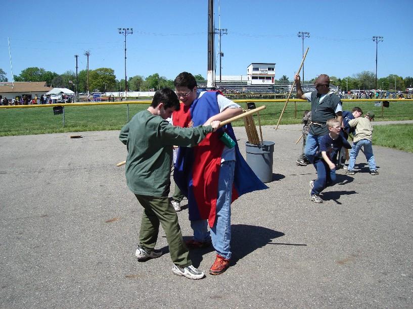 stick wrestling